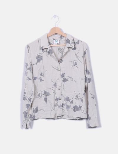 Jota+Ge Graue Vintage Bluse (Rabatt 90 %) - Micolet 0719178020