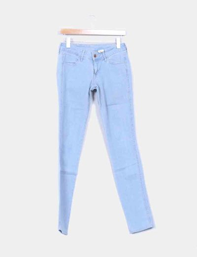 Pantalón denim claro H&M