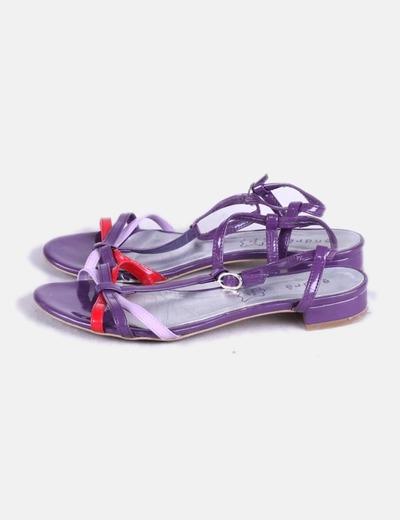 Sandales violettes ANDRÈ