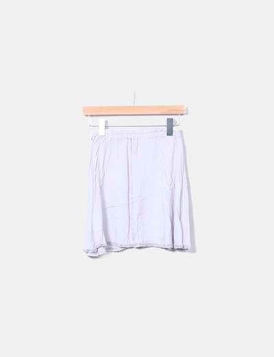 Falda gris con elastico Lontananza