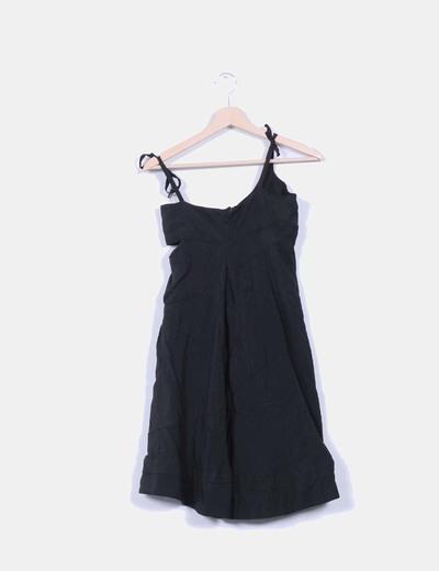 Robe noire évasé Skunkfunk