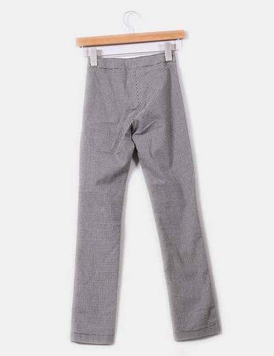 Pantalon pitillo a cuadros