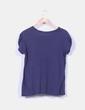 Camiseta azul marino Zara