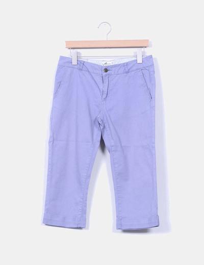 Pantalón pirata azul Amichi