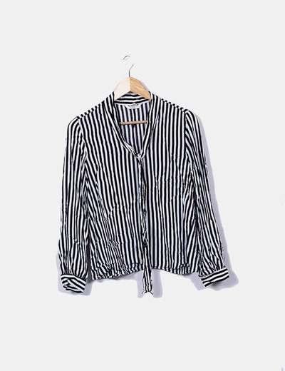 Blusa de rayas manga larga H&M