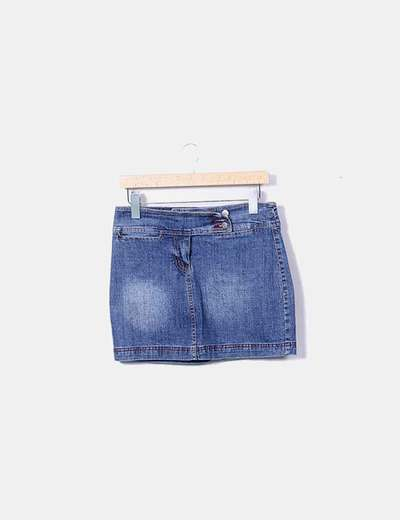 Mini jupe denim Jolina