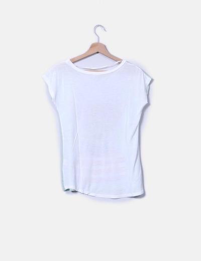 Blusa blanca print