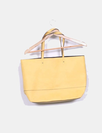 Bolso shoulder amarillo