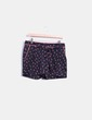 Short negro print plameras Maison Scotch