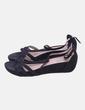 Sandalias negras con strass Flyfor