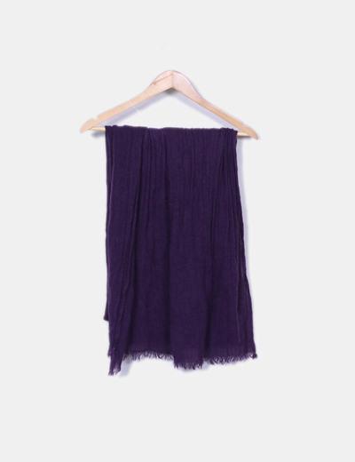 NoName Écharpe violette tricotée (réduction 83%) - Micolet 23889be540e