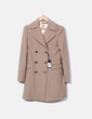 Abrigo largo masculino marrón Guess