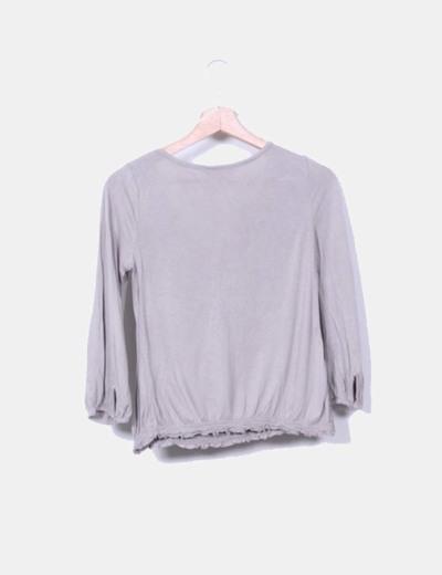 Camiseta color nude