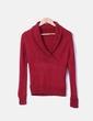 Jersey tricot burdeos Massimo Dutti