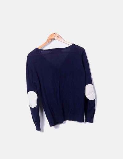 30c324d0af212 Zara Chaqueta tricot coderas (descuento 71%) - Micolet