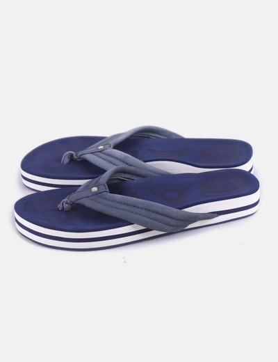 Chanclas navy