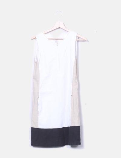 Robe à poches tricolores Sfera