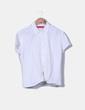 Blusa blanca manga corta Alain Manoukian