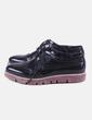 Zapato negro acharolado Mariamare