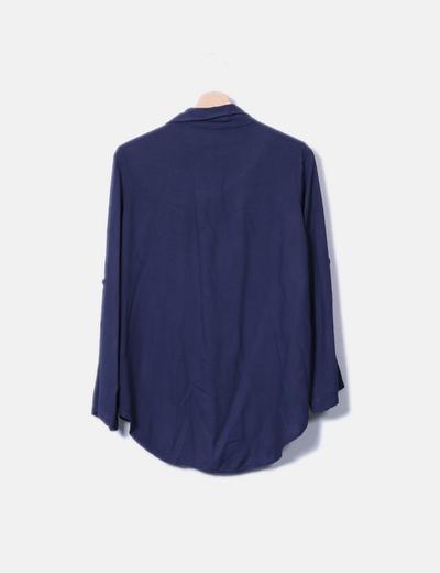 Camisa azul marino militar