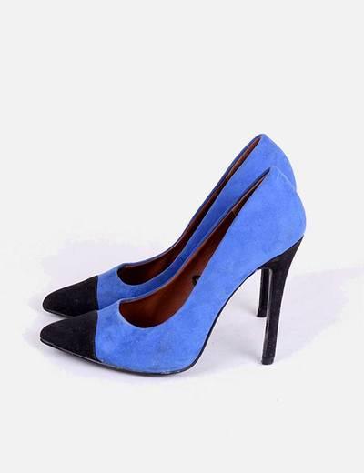 100% de alta calidad nueva selección Tener cuidado de Zapatos de tacón azules