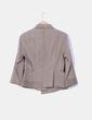 Traje de chaqueta marrón texturizado Adolfo Dominguez