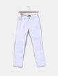 Jeans denim blanco recto EIGHTH