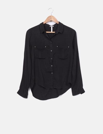 Buenos precios zapatos de separación excepcional gama de estilos Camisa negra
