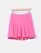Mini falda godets rosa H&M