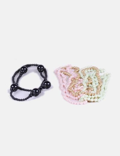 Pack collares perlas