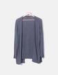 Jersey tricot gris oscuro Stradivarius
