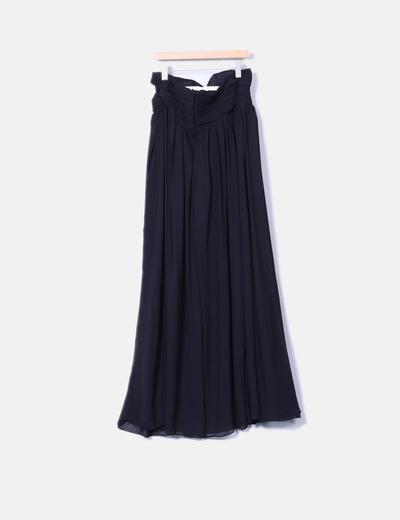 Maxi vestido negro palabra de honor