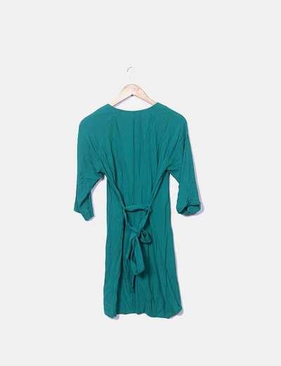 Vestido verde american vintage