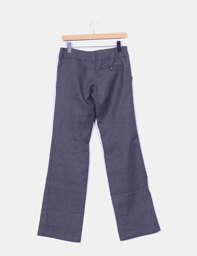 Pantalon gris recto