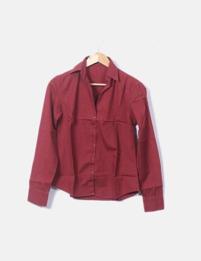 Camisa rojo de rayas