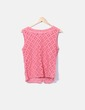 Blusa en crochet rosa Pepaloves