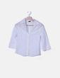 Camisa troquelada blanco And