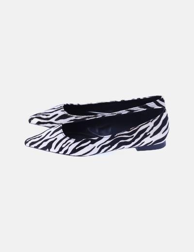 Zapato plano animal print