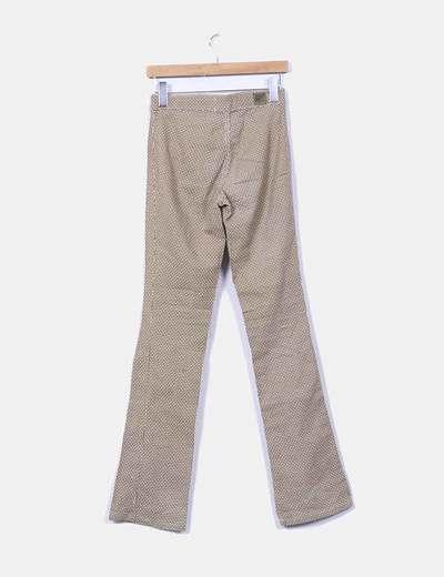 Pantalon estampado vintage