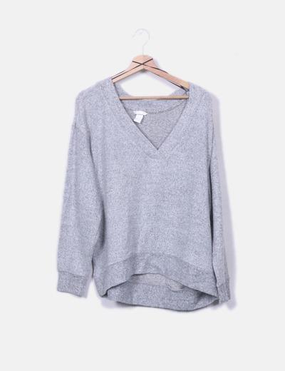 Jersey soft gris