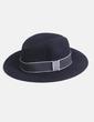 Sombrero negro tira denim NoName