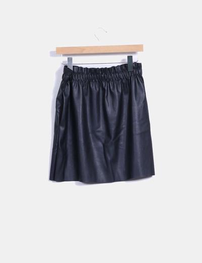 Falda mini polipiel