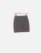 Mini-jupe verte texturé Bershka