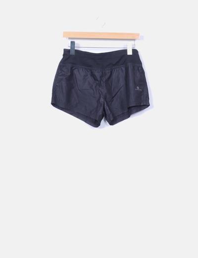 Shorts negros impermeables  Decathlon
