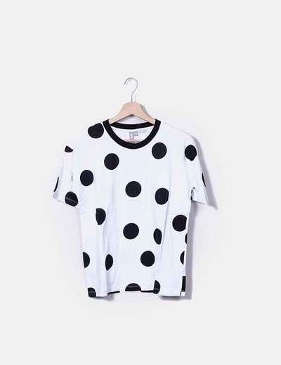 Camiseta print topos