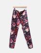 Pantalón satinado floral Suiteblanco