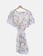 Vestido de gasa con prit floral Primark