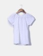 Top guipur blanco Zara Kids