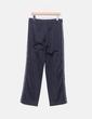 Pantalons noirs de sport à bande blanche Domyos