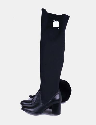 Botas altas de neopreno combinadas Sissei